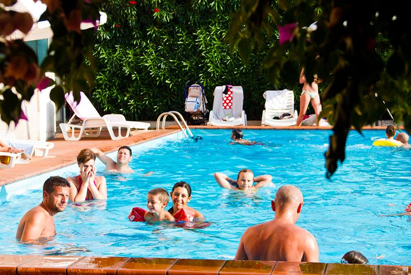 Hotel con piscina per bambini